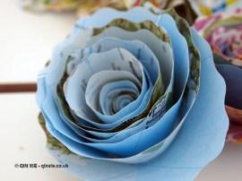 Map flower, British night, Global Feast 2012