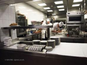 Chefs in kitchen, 25th Anniversary Celebration Menu at Alain Ducasse's Le Louis XV in Monte Carlo, Monaco
