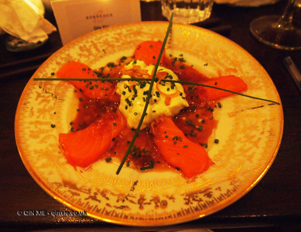 Luiz Hara (The London Foodie) Japanese Supper Club with Bordeaux Wine