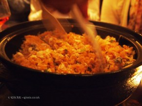 Sea bream rice cooked in clay pot, Luiz Hara, London Foodie Japanese Supperclub with Bordeaux Wine