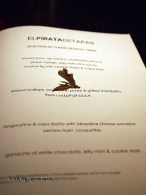Lalani&co and tapas at El Pirata Detapas, Notting Hill