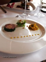 Terrine and chutney, Humphry's, Stoke Park, Buckinghamshire