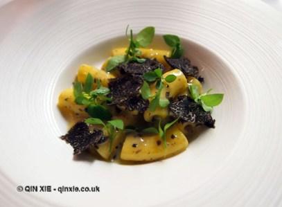 Truffle – hand made pasta, shaved truffle, Bubbledogs Kitchen Table, Fitzrovia