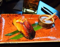 Roasted black cod with lemongrass miso, Buddha Bar, London