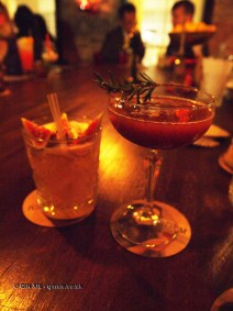 Way of the dragon and Royal Plum, Opium, Soho
