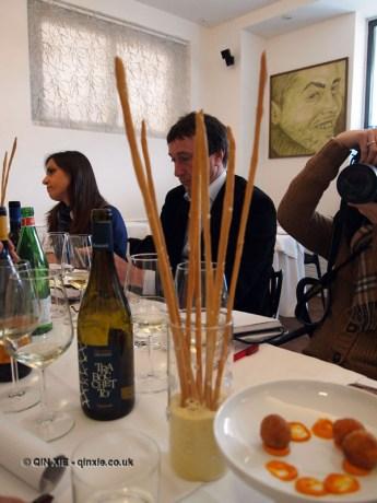 Bread stick, Ristorante Al Metrò, Abruzzo