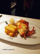 Lobster thermidor, London Malmaison Brasserie