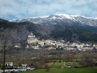 Mountain village, Abruzzo