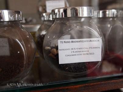 Teas at Ristorante Reale, Abruzzo