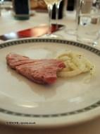 Seared tuna with fennel salad, Ristorante Beccaceci, Abruzzo
