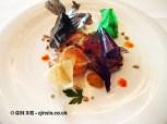 Fish steak with potatoes, Arzak, San Sebastian