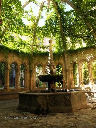 Fountain, Abbaye de Valmagne, Villeveyrac