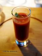 Tomato gazpacho, Riberach, Belesta