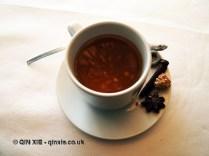 Mint tea, Arzak, San Sebastian