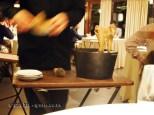 Making grilled sponge, Mugaritz, Errenteria