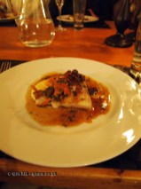 Sea pike-perch with wild mushrooms and polypody jus, foraging with Sami Tallberg, Helsinki