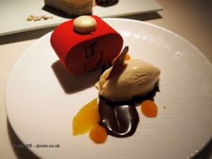Chinese New Year jasmine honey cake, Chinese New Year at Yauatcha, London