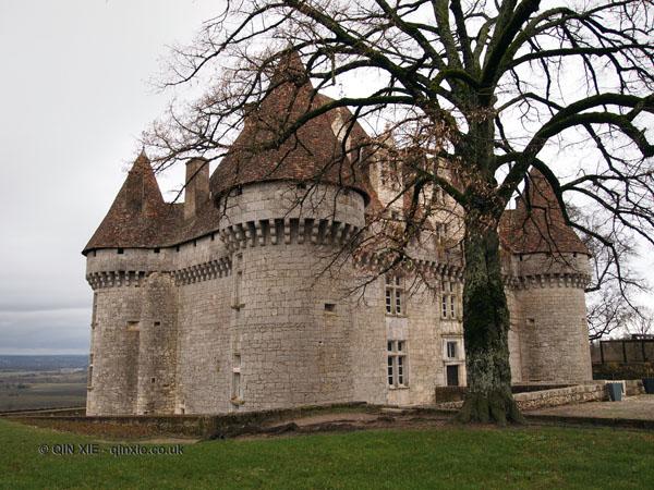 Monbazillac castle, Bergerac
