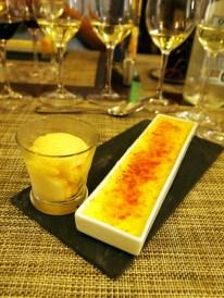 Nicole's lavender crème brûlée, Paul Mas, Montagnac