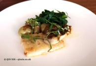 Dover Sole, Jersey Royals & Sea Beet, Lyle's, London