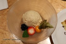 Kinako soy bean ice cream, The Matsuri, St James