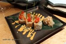 Spicy matsuri roll, The Matsuri, St James