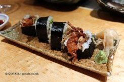 Spider roll, The Matsuri, St James