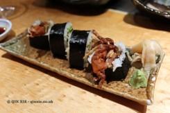 Spider roll, The Matsuri, St James