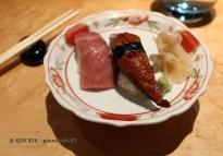 Sushi selection, The Matsuri, St James