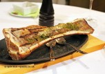 Roasted bone marrow with toast, Entrevins, Valencia