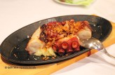 Grilled octopus and mashed potato, Entrevins, Valencia