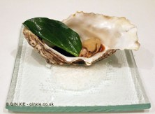 Oyster with veal sauce, The Yeatman, Porto