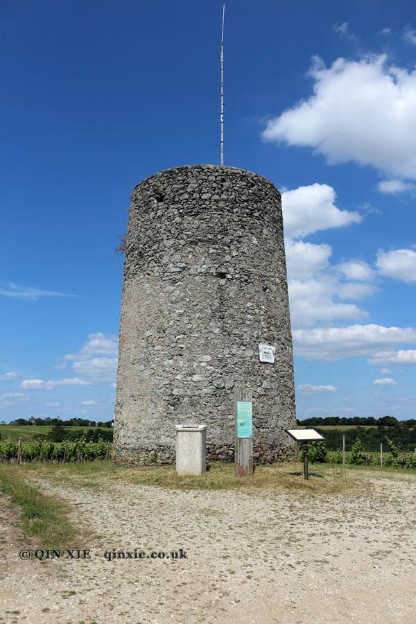 Watch tower, Domaine des Forges, Saint Aubin de Luigné