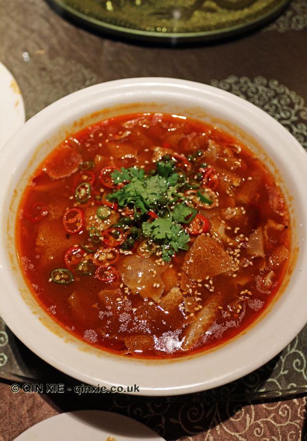 Spicy bamboo tips, Vegan Restaurant, Chengdu