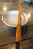 Chopsticks and bowl, Tian Yuan Yin Xiang, Chengdu