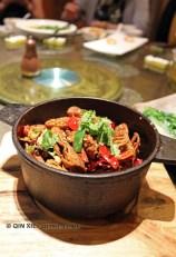 Fried tofu, Vegan Restaurant, Chengdu