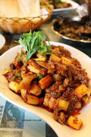 Rabbit and giant spring onion, Tian Yuan Yin Xiang, Chengdu