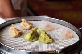 Steamed dumplings, Dumplings feast at De Fa Chang, Xian, China
