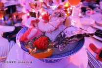 Assorted seafood on ice - Baby lobster, scallops, live oyster, salmon roe, tuna, yellow tail and salmon, Sofitel Gala, Sofitel Legends People's Grand, Xian