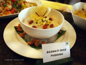 Basmati rice pudding at APEDA basmati rice conference
