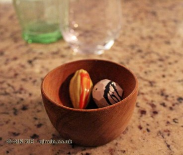 Chocolates, Restaurante 99, Santiago