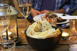 Flatbread, James Ramsden's Secret Larder Supper Club