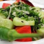 Salad in Georgia