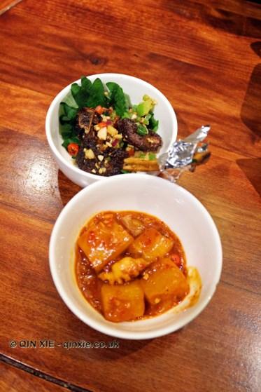 Lamb chops and potatoes, Kuan Alley No 3, Chengdu, China