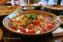 Spicy frogs, Ren Ming Shi Tang (People's Public Restaurant), Chengdu, China