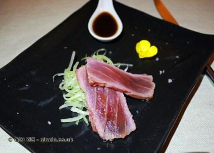 Small Tataki of red tuna, Osteria Cantine Cattaneo, Sestri Levante