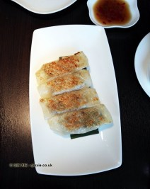 Chicken Shanghai dumplings at Yauatcha City, London
