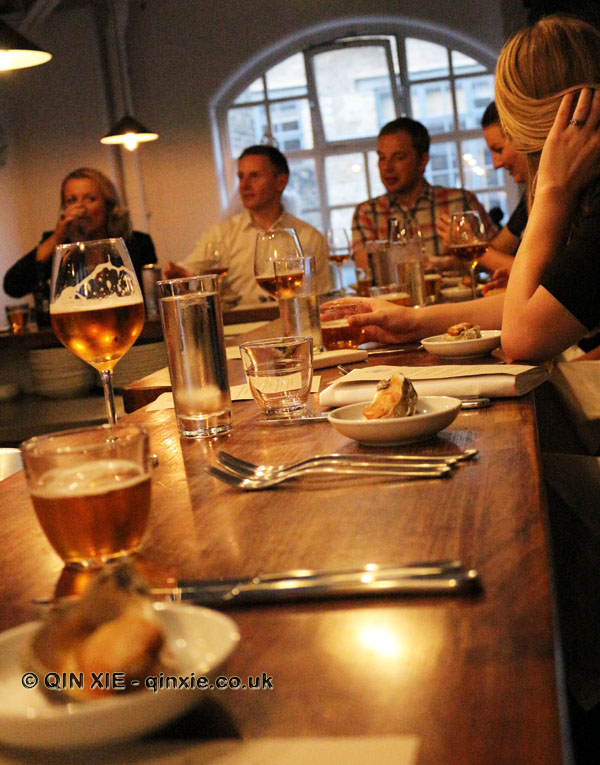 Beer matching dinner with Innis & Gunn