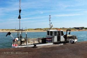Fishing boat in Mudeford harbour, Dorset