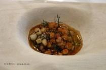 Squid and piquillos (André Chiang), #AtxaAndreRicard at Azurmendi, Larrabetzu